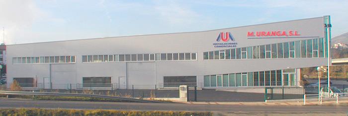 Taller, exposicion y oficinas de instalaciones comerciales M. Uranga s.l. Especialostas en maquinaria de hosteleria