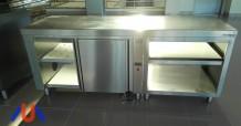 Mesa caliente DISTFORM + Módulo estantes