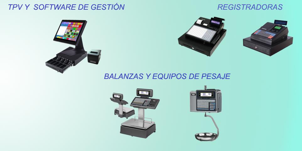 Los últimos modelos en el mercado tanto en registradoras, balanzas como TPV y software de gestión. Le recomendaremos el equipo que se ajuste a sus necesidades y las de su comercio.