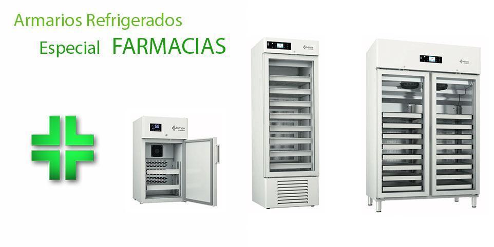 Armarios refrigerados especiales para farmacia, disponemos de una amplia gama de camaras frigorificas especiales para farmacia.